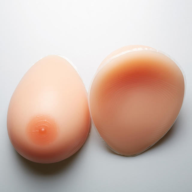 False breast 800g/pair Artificial Breasts Silicone Breast Forms crossdresser +1 pair breasts chest special protection sets