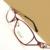 Gel Glitter Metal Metade rim Óptica da Prescrição QUADROS de ÓCULOS Mulheres Óculos RX Espetáculo D9726 Eyewear