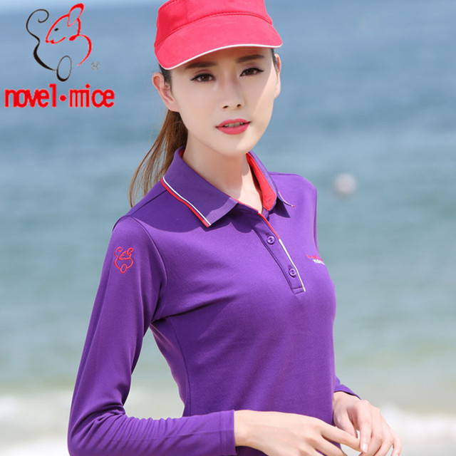 Crazy Selling women embroidered polo shirts logo 230g polo shirt