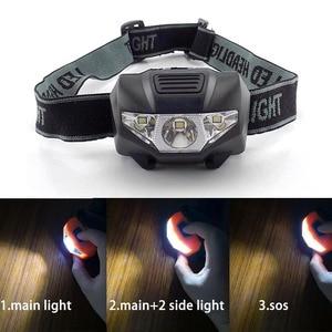 Mini LED headlamp Headlight He