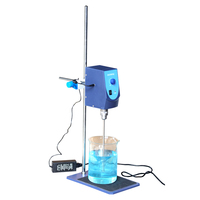 SH II 6 Laboratory Electric Overhead Stirrer Stir Plate Agitator Blender Mixer