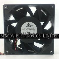 델타 pfm1412de 14cm 14038 140x140x38mm dc 12 v 5.04a 6500 rpm 280cfm 강력한 diy bitcoin 광부 냉각 팬