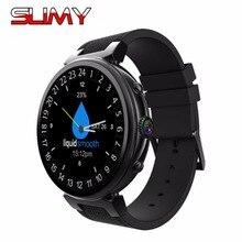 Viscoso I6 Relógio Inteligente Android 5.1 Smartwatch MTK6580 Quad Core RAM 2 GB + ROM16GB Suporte 3G GPS WIFI Google Play Câmera Whatsapp