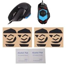 d95626feb88 2019 New 4 sets 0.6mm Teflon Mouse Feet Mouse Skates Pad for Logitech G502  Laser