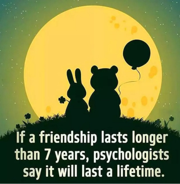 Bear Rabbit Cartoon Friendship Love Lovely Moon Night Retro Vintage ...