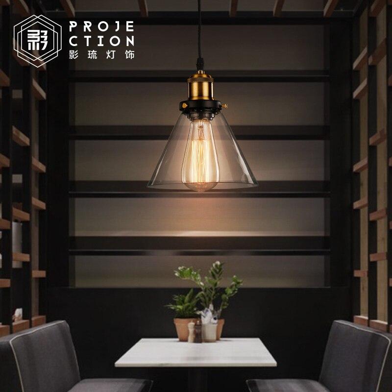 Suspension en verre pour Restaurant de bricolage industrielSuspension en verre pour Restaurant de bricolage industriel