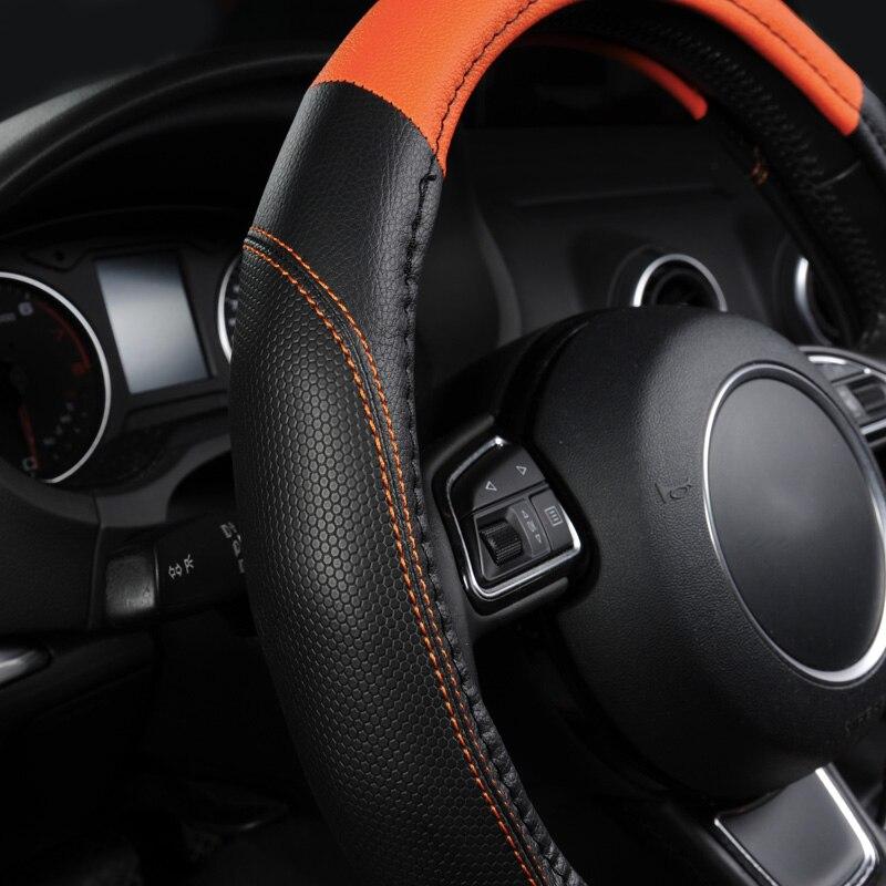 Steering Wheel Cover, Universal New Sports Style Anti-SLIP 3
