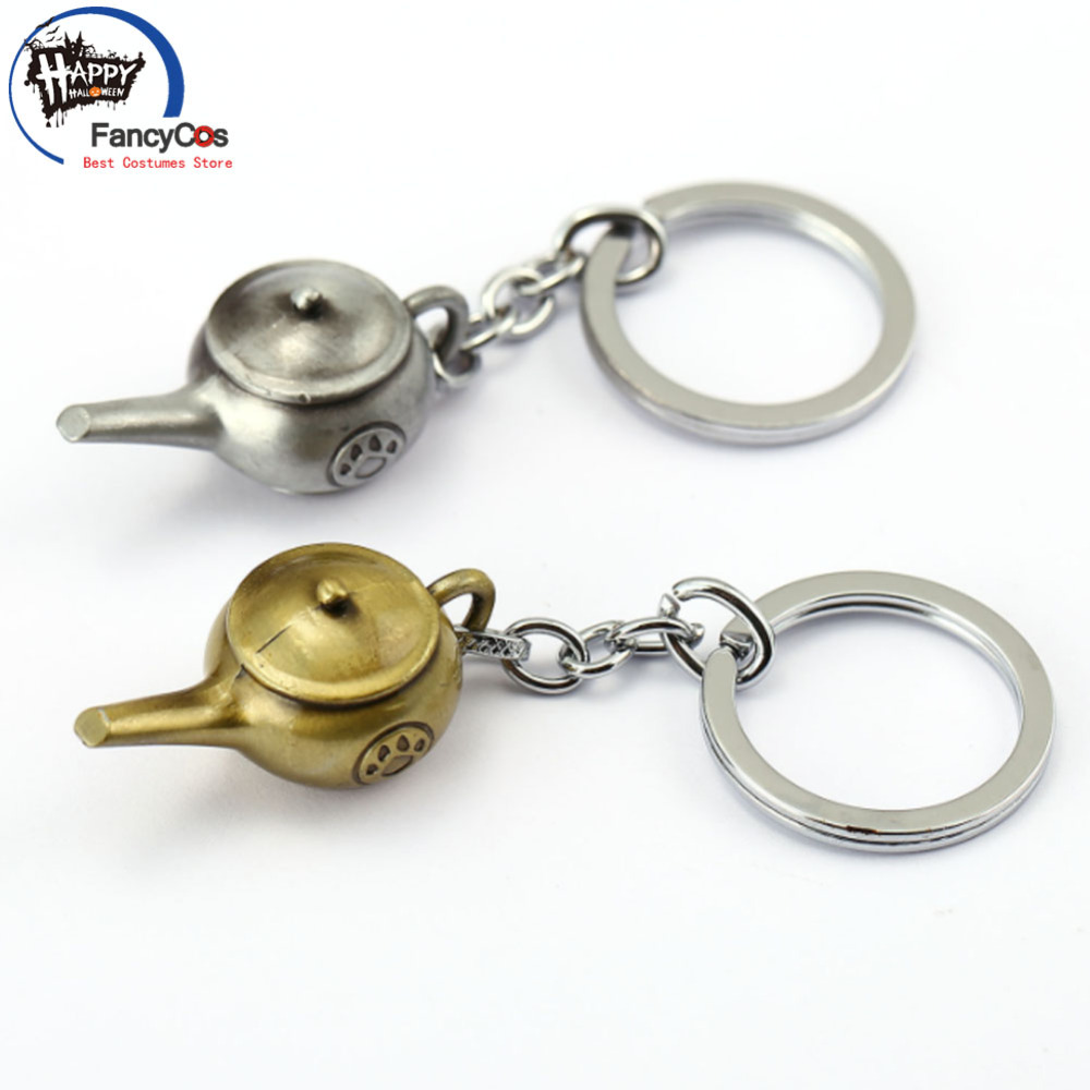 game World of Warcraft  Mists of Pandaria  Monk teapot  Key chain  Metal Pendant Fancy Jewelry Costume Cosplay Halloween Movie