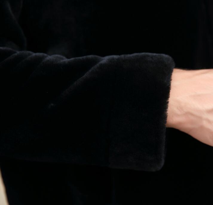Mode Occasionnel En Cuir Renard Noir De Vestes Personnalité La Imitation Hiver Col Autumer Manteaux Hommes Court Lâche Fourrure aRUpEqw