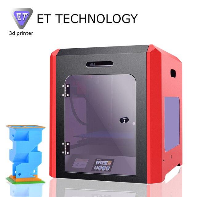 2017 New Model Large Print Size Fully Closed 3D Printer ET-K1 Original Manufacturer Full Metal Frame 5