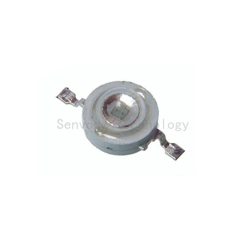100X Шэньчжэнь завод 3 Вт Королевский синий 450-460nm мощный светодиодный светильник с бусинами