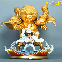 Anime ONE PIECE Warring States Gold Buddha Sengoku GK Resin Statue Action Figure Collection Model Toy G2589