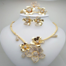 New Ethiopian Snail Desigh Jewelry Set  Gold Color Africa Wedding/Middle East Turkey/Saudi Arabia Party Gifts