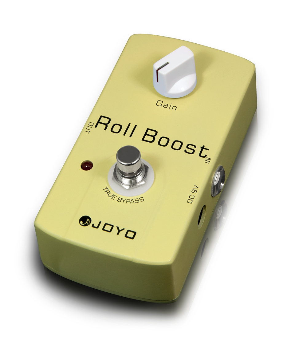 JOYO JF-38 Electric Roll Boost Guitar Effect Pedal Boost Clean Booster Increase 35dB Stompbox Supports Input Of 18V DC Voltage bravo audio booster guitar effector blue transparent dc 12v
