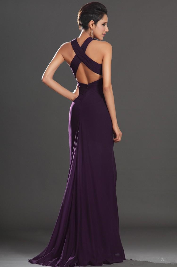 2015 sexy deep v neck long chiffon bridesmaid dresses dark purple 2015 sexy deep v neck long chiffon bridesmaid dresses dark purple backless a line dresses junior maid of honor x336 in bridesmaid dresses from weddings ombrellifo Image collections