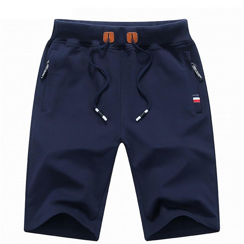 Woodvoice Brand Clothing Solid Men's Shorts Summer Mens Beach Shorts Cotton Casual Male Shorts Homme Drawstring Jogger Shorts
