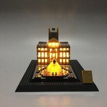 Led Light Set For Lego Building City Street 21024 Architecture Series Louvre Toys Blocks Creator Lighting