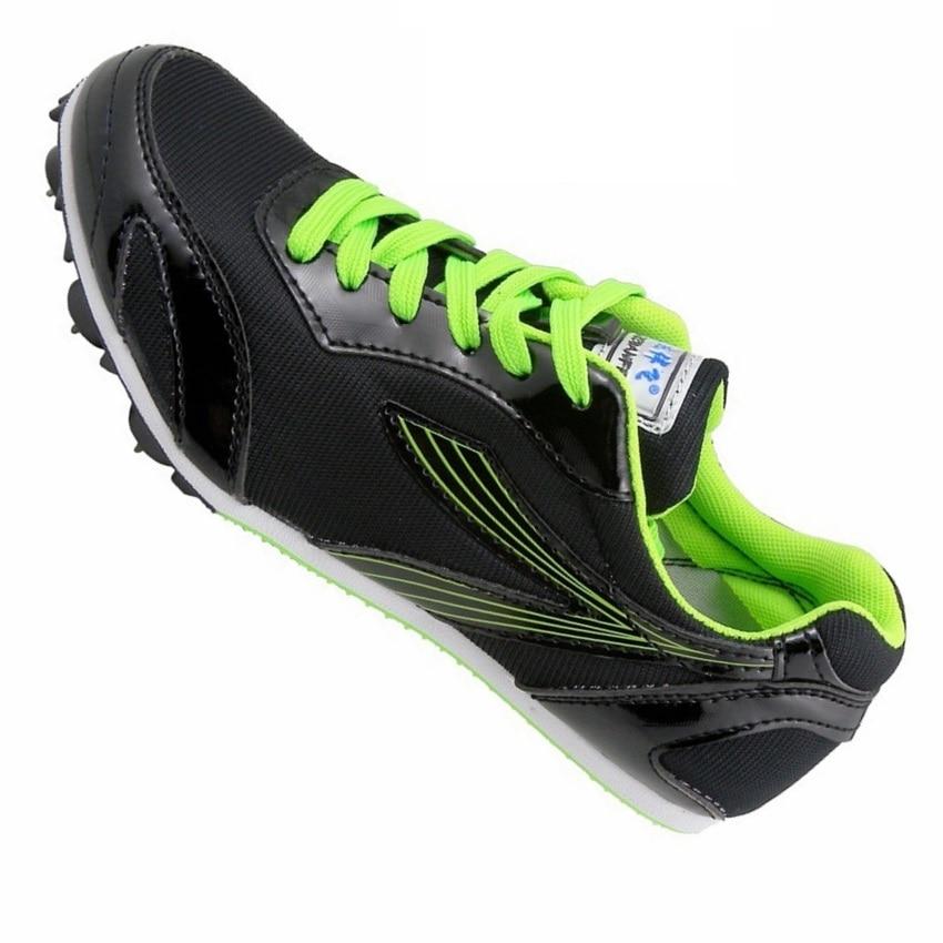 GOGORUNS ultra light Мужчины Шипы Кроссовки Мужчины Мальчик Студент Тесты соревнования по легкой атлетике Бег кроссовки мальчиков ногти обувь