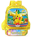 15 Inch Pokemon Go Monster Pikachu Boys Girls School Bag Book Bag Backpack Mochila Gift Back to School Cartoon Children