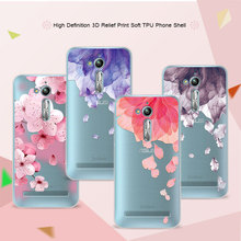 ФОТО 3d relief phone case cover for asus zenfone go zb500kl zb500kg 5.0