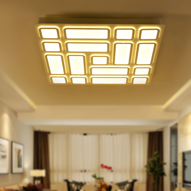 LED Ceiling Light Modern Children Bedroom Living Room Kitchen Ceiling Lamp Block Style Acrylic Lighting Fixture BLC6053