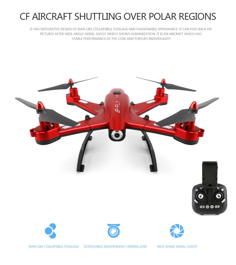 Newest  Foldable rc Drone Remote Control helicopter with WIFI camera  Set-High dron helicopter radio wireless folden syma x56w remote control drone helicopter 2 4g 4ch 6 axis aircraft quadcopter foldable hover rc dron with wifi camera