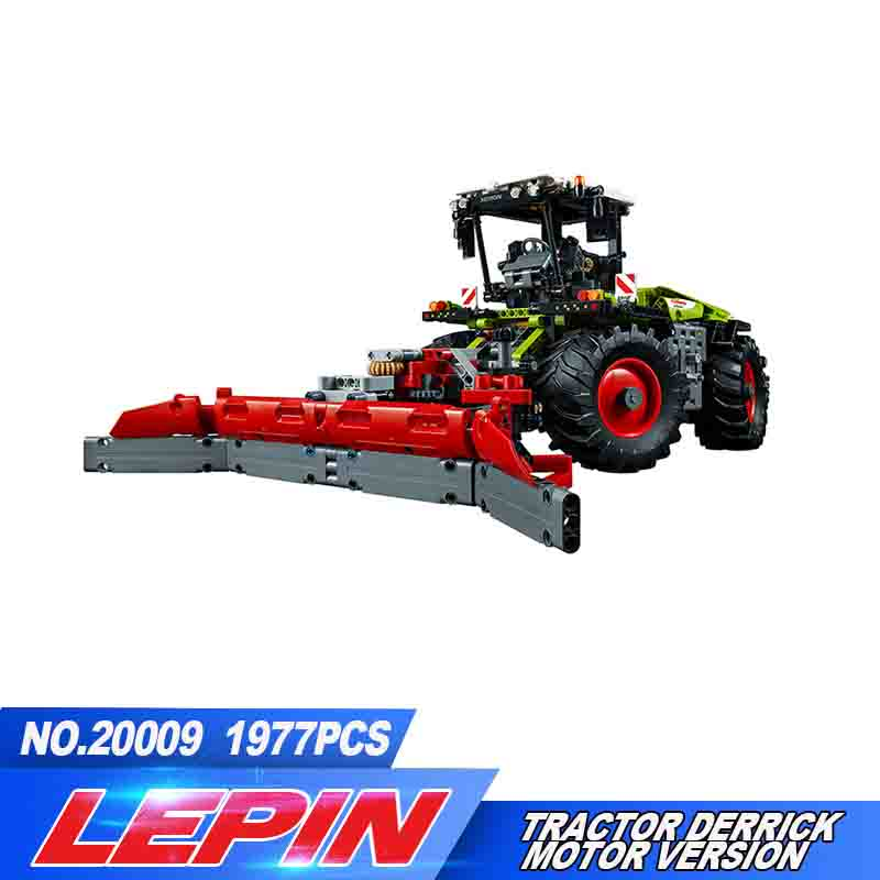 Lepin 20009 Technic Truck building bricks blocks New year Gift Toys for children Model Car 42054 2017 new lepin 20009 1977pcs technic claas xerion 5000 trac vc model building kits blocks bricks compatible toys gift with 42054