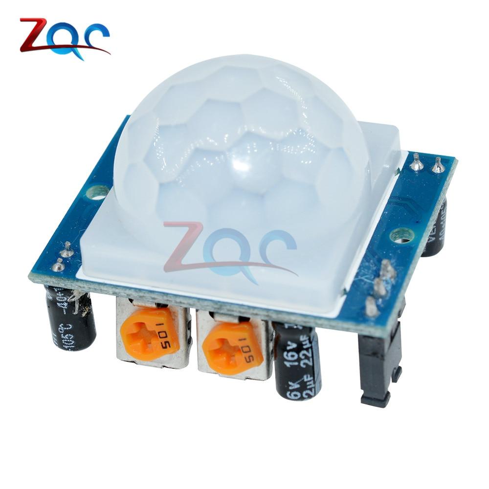 2 Stücke Sr501 Hc-sr501 Einstellen Ir Pyroelektrische Infrarot-pir Modul Motion Sensor-detektor-modul Für Arduino