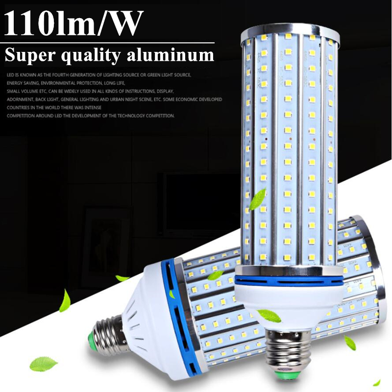 3 years warranty aluminum 110lm/w e27 LED bulb light AC220v 230v 240v e27 e40 40w 60w LED corn bulb replace 150w HPS lamp