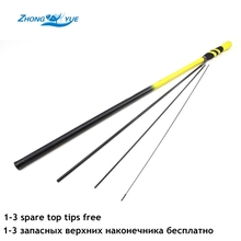 Promotion! New Carbon Fiber Carp Fishing Pole Stream Hand Rod Telescopic Fishing Rod  Fishing Tackle 3.6M 4.5M 5.4M 6.3M 7.2M