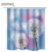 Dandelion Shower Curtain College Dorm Decoration Waterproof Hot Sale Drop Shipping Bathroom CurtainChina