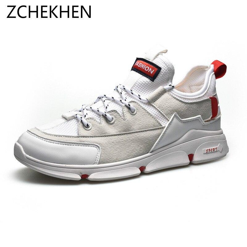 De Hip hop para hombres Zapatos casuales Zapatos transpirables zapatillas  de deporte de moda Zapatos de Hombre Zapatos de Tenis Masculino Zapatos  Hombre ... f6b19851f42