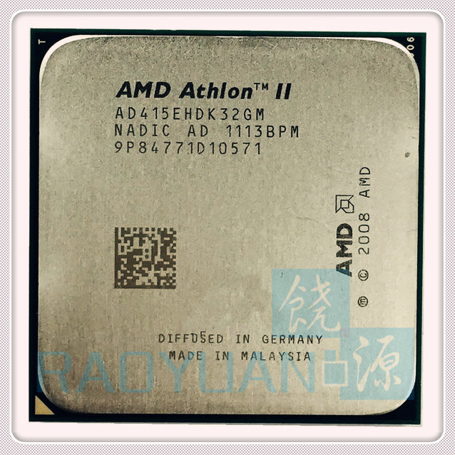 AMD Athlon II X3 415e X3 415E 2.5GHz Triple-Core CPU Processor AD415EHDK32GM Socket AM3