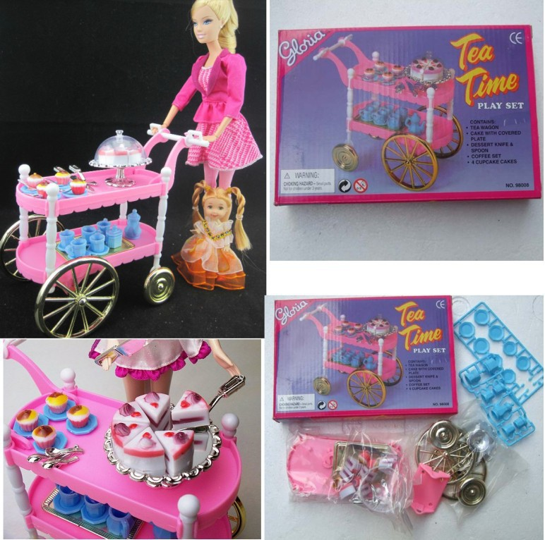 1505 Hot Sell Children Play Toys Girls Birthday Gift Cake Car