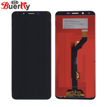"BKparts 5.7"" Tested LCD For Infinix Hot 6 Hot6 X606 LCD Display Touch Screen Complete Assembly Glass Digitizer Replacement(China)"