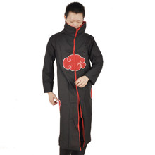halloween Japanese anime naruto cosplay jacket costumes naruto ninja shirt clothing Akatsuki Uchiha Itachi costume accessories(China)