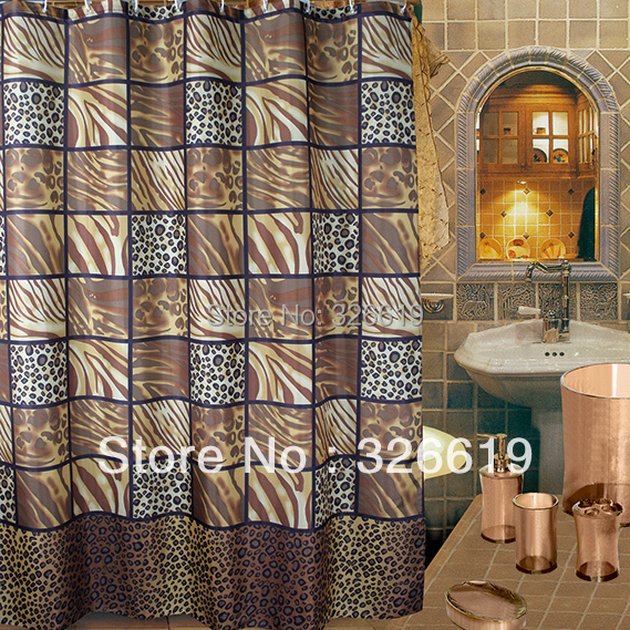 Buy Leopard Print Shower Curtains And Get Free Shipping On AliExpress
