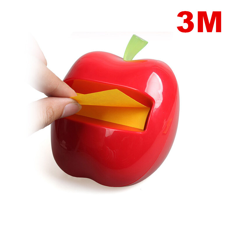 3M post-it 76mm*76mm Removable Sticky apple Shaped Dispenser combo notes Office Supply Stationery APL3303M post-it 76mm*76mm Removable Sticky apple Shaped Dispenser combo notes Office Supply Stationery APL330