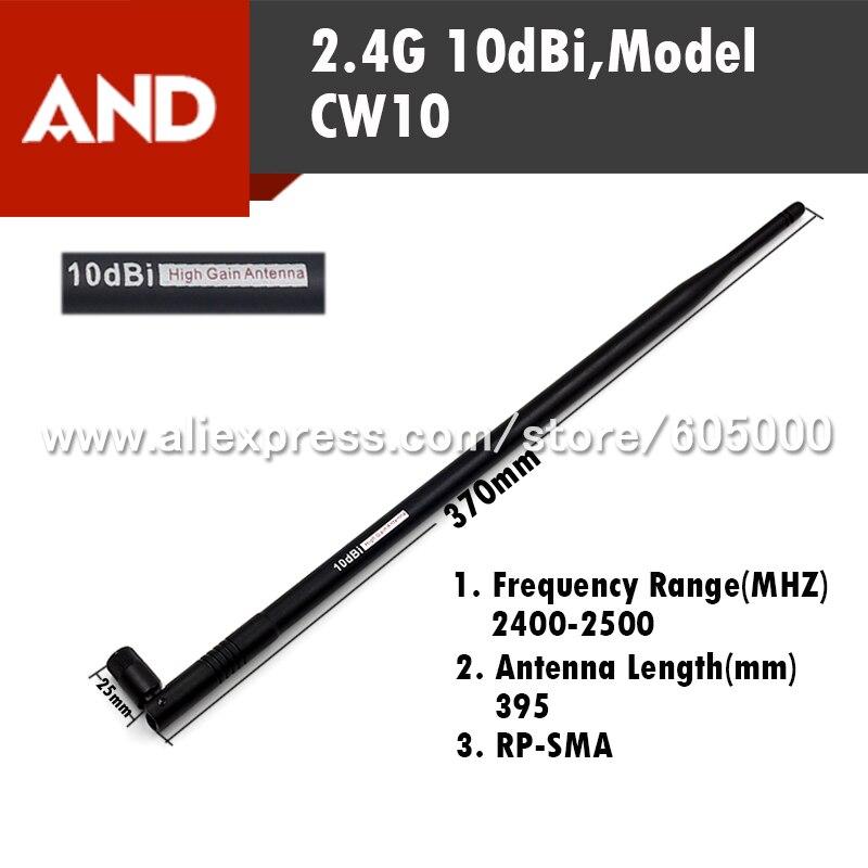 imágenes para ENVÍO LIBRE 2.4G de Alta Ganancia de 10dbi RP-SMA, Wifi Antena Amplificador Booster Wifi Antenas WLAN Router Conector