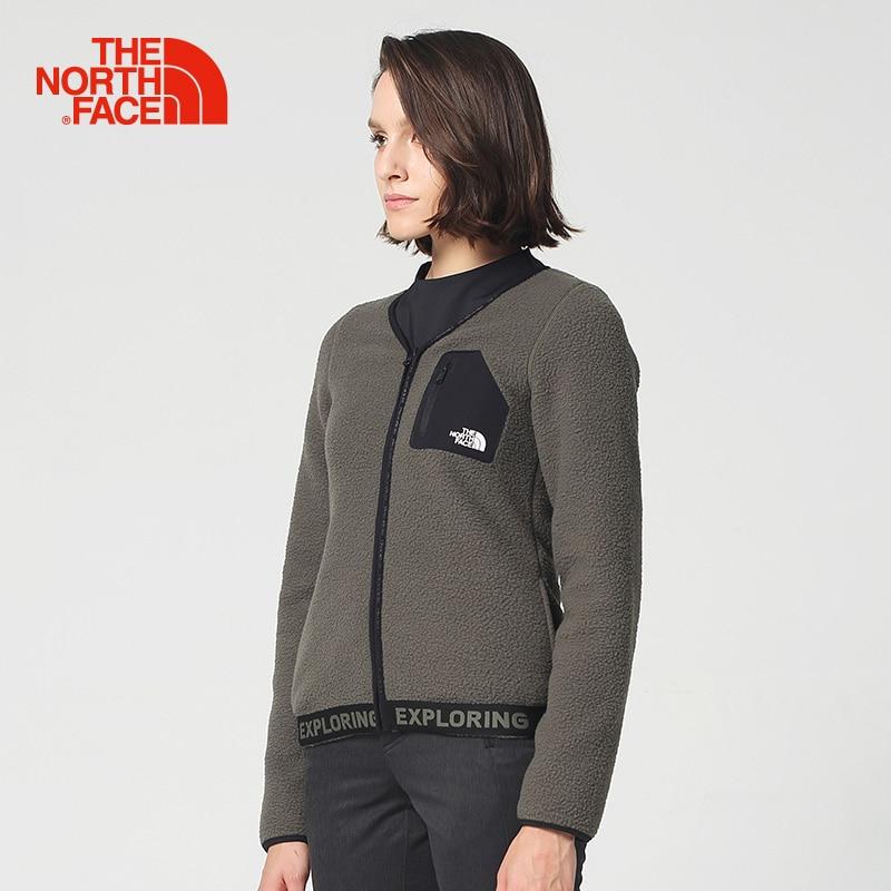 ... italy the north face womens winter down jackets windbreaker v neck  jackets hiking cotton fleece coat ac3c46610