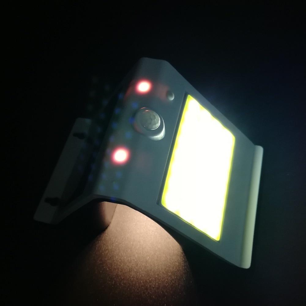 de Energia Solar Lâmpada Luz Sensor de