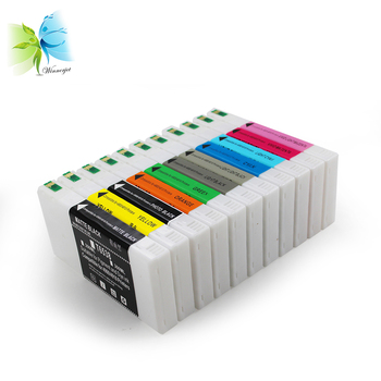 Winnerjet 2 sets 11 colors T6531 pigment ink cartridge with chip for Epson 4900 4910 printer compatible ink cartridge