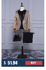 HTB19JAlPFXXXXcqXVXXq6xXFXXXK - (Куртка + Брюки для девочек) розового золота Блёстки Мужская Мода с блестками свадебные жених Костюмы Для мужчин блесток блейзер для ночного клуба Бар DJ певица тонкий костюм