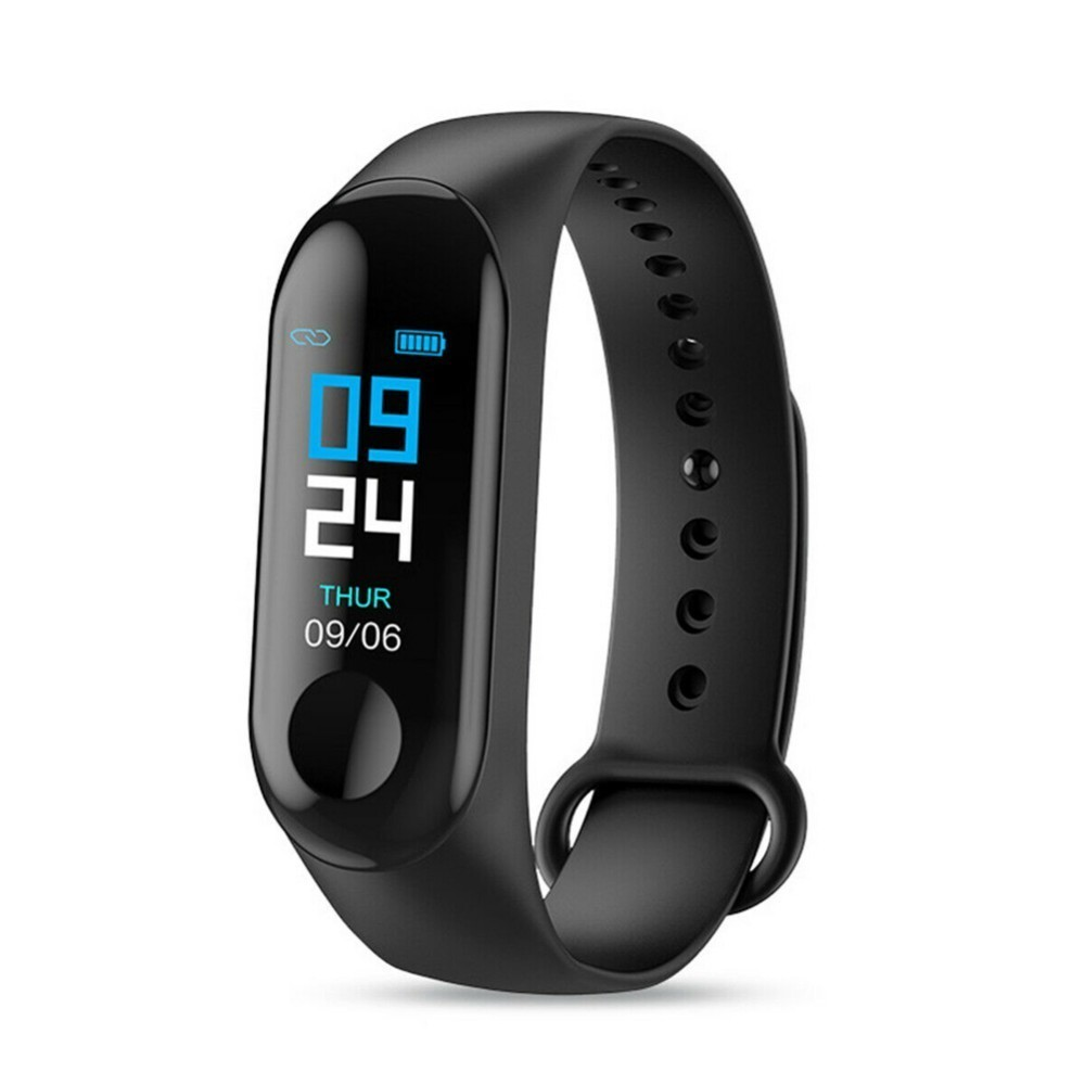 M3 Color Screen Smart Bracelet Heart Rate Monitoring Information Push Bluetooth Sports Bracelet