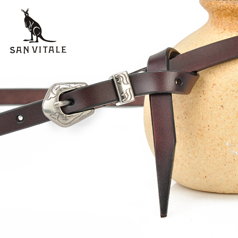 New Women Fashion <font><b>Belts</b></font> Genuine Leather Waistband Black Red Luxury Brand Jeans Dress Female Top Quality Straps Ceinture Femme image