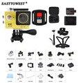 """H9R Remoto 4 K Action Camera 2 """"170D Wifi 30 M Subaquática Capacete Cam Ir Pro Esporte Câmera À Prova D' Água"""