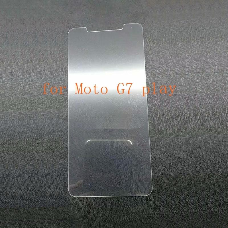 10 Piezas De Cristal Templado De Cine Protector De Pantalla Para Motorola Moto G7 Jugar Plus P40 Z3 Con Toallitas De Limpieza No Caja De Venta Al Por Menor
