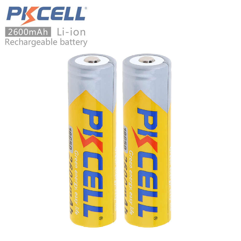 Detail Feedback Questions About 6pcs Pkcell Bateria 18650 Battery Protection Circuit For Led Torch Sanyo Cell 2pcs 37v 2600mah Li Ion Rechargeable With Discharge Circuits