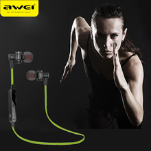 AWEI A990BL Wireless Bluetooth Earphone For Phone In-Ear Earphones   Noise Cancelling With Mic For iPhone 6 6s 7 Samsung S6 S7