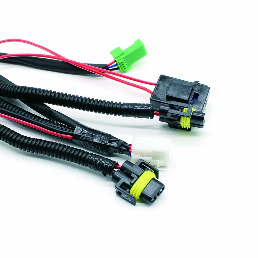 small resolution of  wiring harness sockets wire switch wi led indicators for fog light lamp for nissan